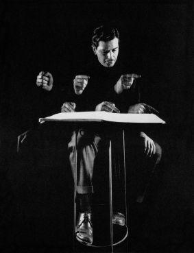 Gordon Parks. Retrato de Peter Mennnin