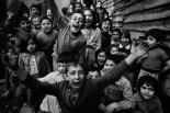 TURKEY. Children playing at Tophane. 1986.
