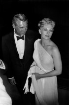 FRANCE. 12th Cannes film festival. May 16th 1959. American actors Cary GRANT and Kim NOVAK.