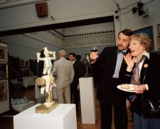 GB. England. Bristol. Private View. From 'The Cost of Living'. 1986-89.