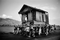 PHILIPPINES. Moving house. 1958.