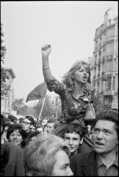 FRANCE. Paris. May 1968.