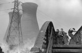 GREAT-BRITAIN. Ilford. Thermal power station. 1954.