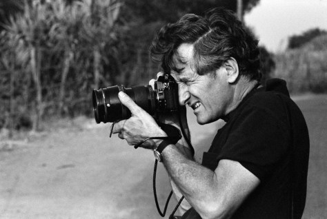 Marc RIBOUD- French photographer.