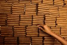 A woman sorts cigars at the Cohiba cigar factory 'El Laguito' in Havana September 10, 2012. (Photo by Desmond Boylan/Reuters)