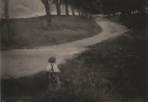 gertrude_Kasebier_camino_a_roma_1902
