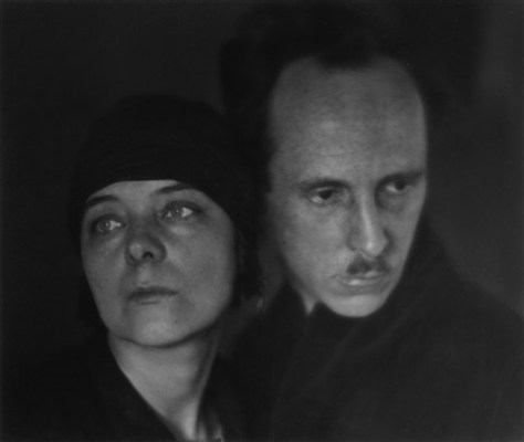 "Imogen Cunningham. ""Edward Weston y Marguerite Mather"" (1923)"
