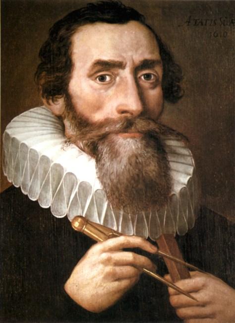 JAutor no identificado. Retrato de Johanes Kepler (1610)