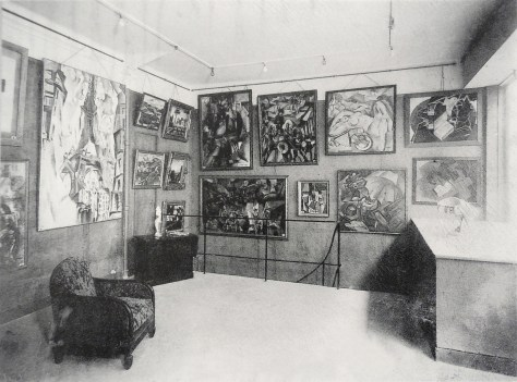 "Exposición ""La Section d'Or "" (1925) Galerie Vavin-Raspail, Paris."