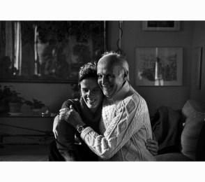 Martine Franck y Cartier-Bresson fotografiados por André Kertész