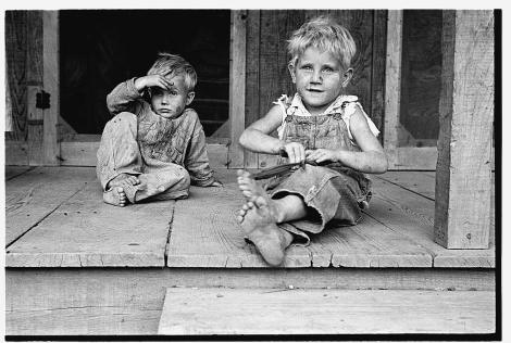 Ben Shahn. Children of rehabilitation client Maria plantation Arkansas