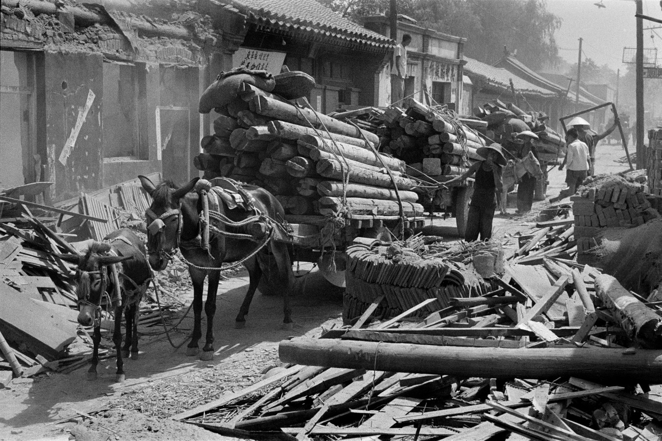 Galería: Henri Cartier-Bresson China 1958 | Oscar en Fotos
