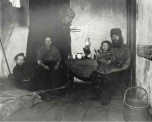 Jacob Riis In Poverty Gap West 28 Street an English Coal Heaver's Home c1880-90s