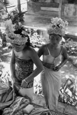 Preparations for the Baris Dance, Ubud, Bali, Indonesia 1949 Henri Cartier-Bresson