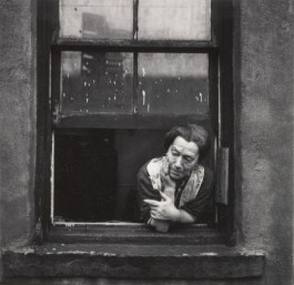 Walter Rosenblum (American, 1919-2006) Disturbed Woman, Pitt Street, New York, 1938