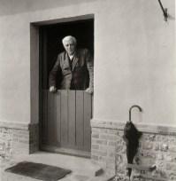 Georges Braque a Varengeville Robert Doisneau, 1953