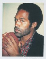O. J. Simpson, Polaroid, Andy Warhol