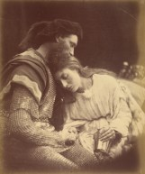 """Julia Margaret Cameron. """"Parting of Sir Lancelot and Queen Guinevere"""" (1874)"""
