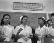 Daytona Beach, Florida. Students in the home economics class. 1943