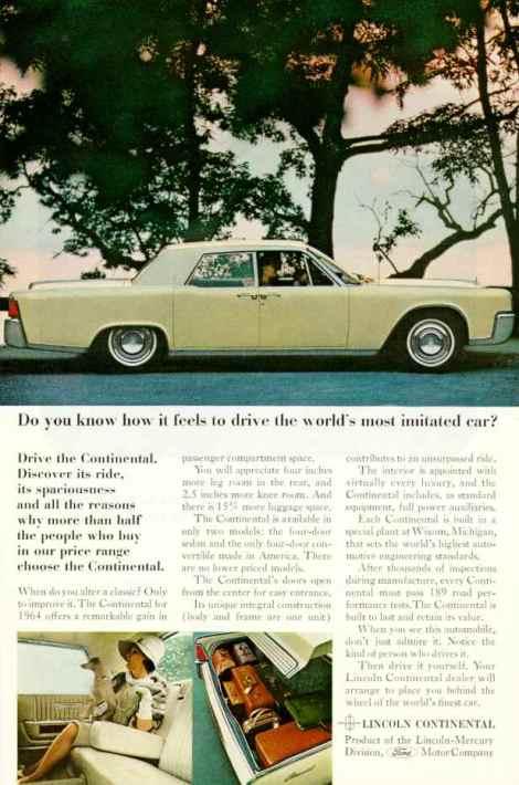 1964 Lincoln Ad-01