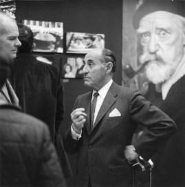 Photographer, Alfred Eisenstaedt at the Walker Art Center, 1967