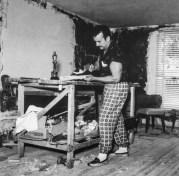 Héctor García. Pedro Infante en su casa de Cuajimalpa. (Ciudad de México, 1950)