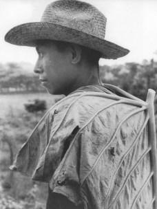 """Héctor García. """"El niño de la hoja"""" (Veracruz, 1965)"""