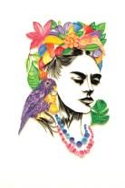 Frida-kahlo-papel