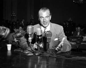 Gary Cooper ante la HUAC