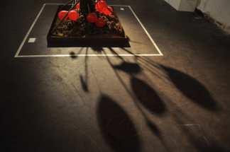 Das Ende der Gewalt. Perfomative Installation. Bianca Wickinghoff | Oscar Ledesma
