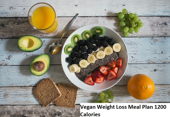 Vegan Weight Loss Meal Plan of 1,200 Calories (Reviews ...