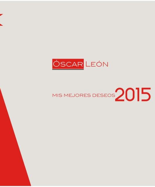Óscar León: Feliz año 2015
