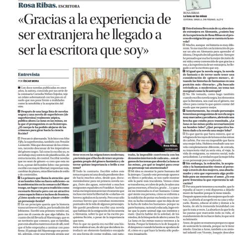 Entrevista a Rosa Ribas