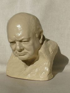 ONC933 - Classic Churchill Bust (Stone Resin)