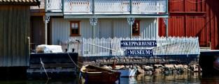 Skepparhuset, ett museum pa Gullholmen.