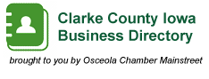business listings for osceola iowa clarke county