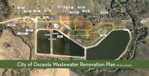 Osceola iowa wastewater treatment plant