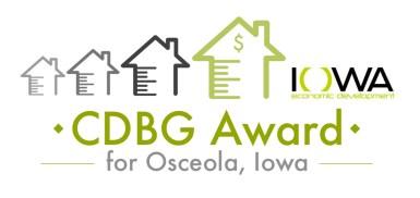 low income housing grant osceola iowa