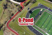 trail in osceola q-pond clarke schools