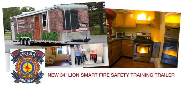 fire safety trailer osceola fire department