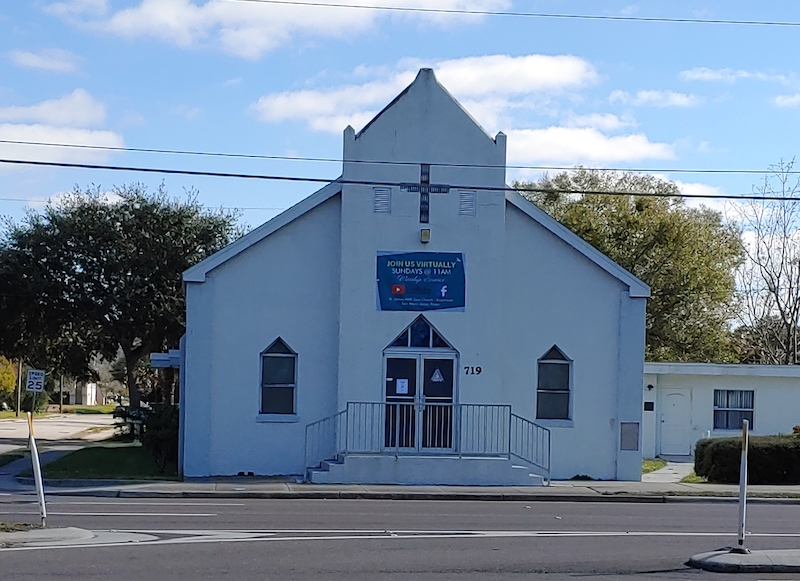 St. James AME Zion Church traces history to late 1800s