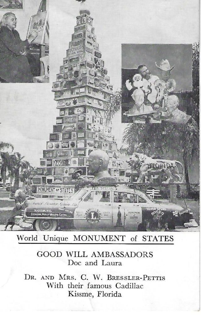 Newspaper Print Monument of States