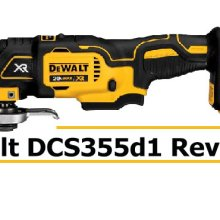 Dewalt DCS355d1 Review