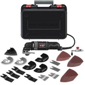 PORTER-CABLE PCE605K52 3-Amp Oscillating Multi-Tool