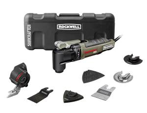 Rockwell RK5140K Sonicrafter Hyperlock with Universal Fit and Constant Speed Control Oscillating Tool