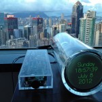 Oscilloclock Model 1 in Hong Kong!