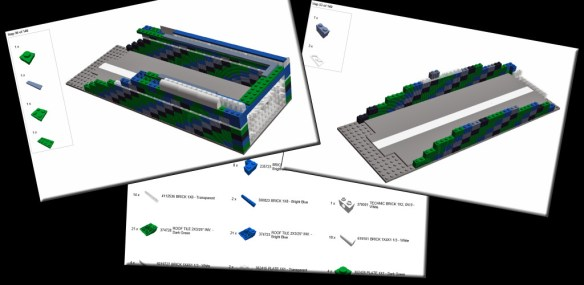 Oscilloblock - Lego building instructions collage