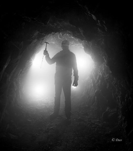 Denuncia,minería salvaje