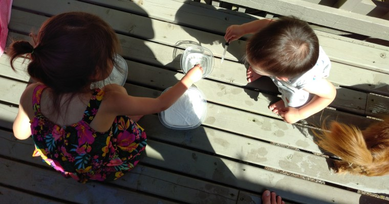 Science Fun with Baking Soda and Vinegar