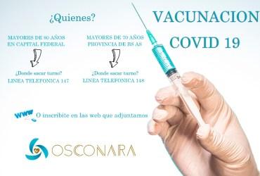 Plan de Vacunación COVID-19 para adultos mayores